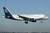 "SX-OAF Airbus A319-112 c/n 3895 Brussels/EBBR/BRU 23-06-14 ""OAL c/s"""