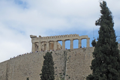 The Acropolis of Athens at day - Athens, Greece