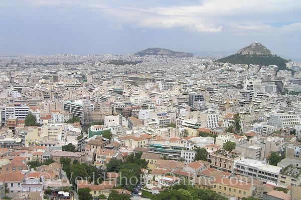 Athens - Acropolis - View of Athens