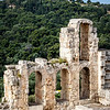 Herodes Theater and Monument of Philopappos