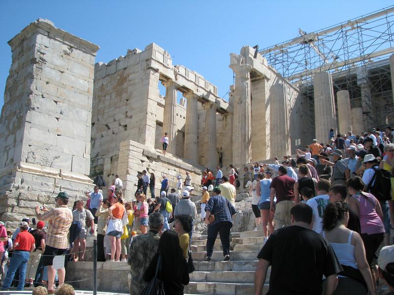 Acropolis steps