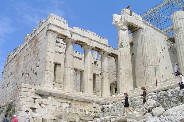 Athens - Acropolis - Entrance to Panthion