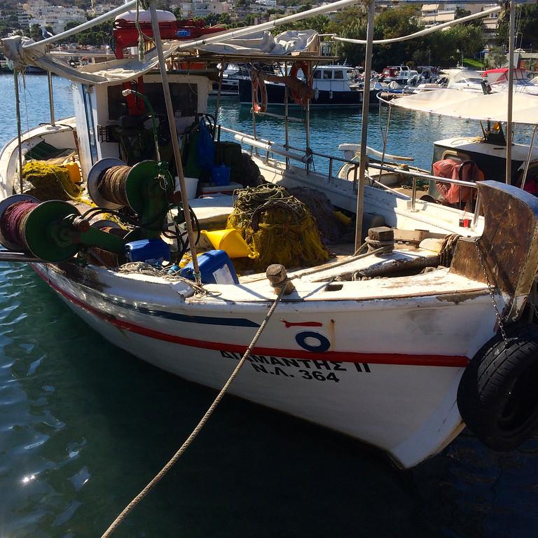Greek Fishing Boat - Athens, Greece - Photo