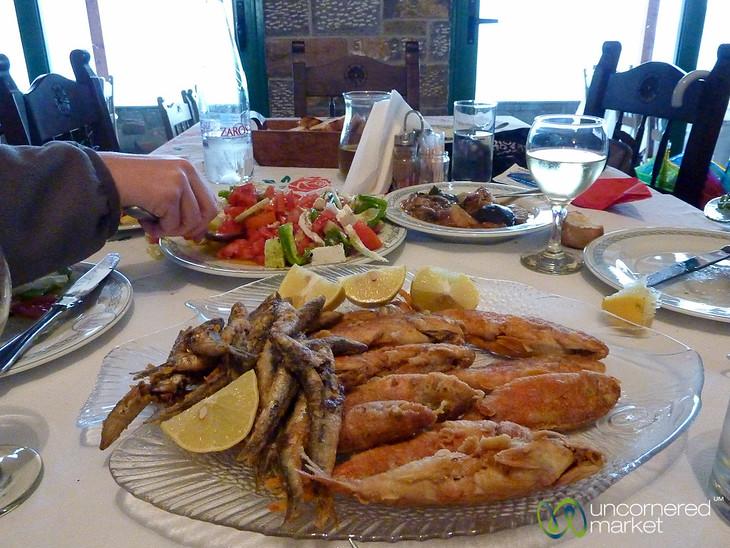 Seafood Overload - Spinalonga, Crete