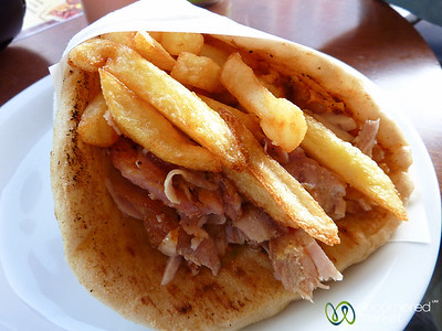Gyros, Crete Street Food - Chania, Crete
