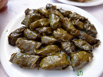 Dolmades (Stuffed Grape Leaves) - Crete, Greece