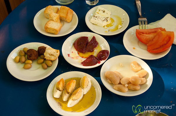 Cretan Small Plate Eating - Heraklion, Crete