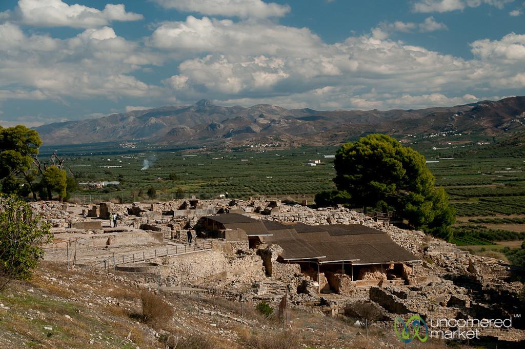 Minoan Ruins of Phaistos - Crete