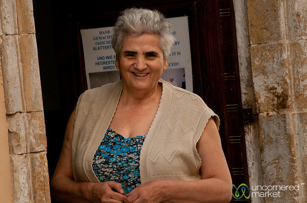 Friendly Farewell Smile - Rethymnon, Crete