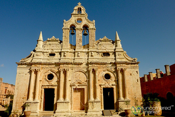 Arkadi Monastery - Crete, Greece
