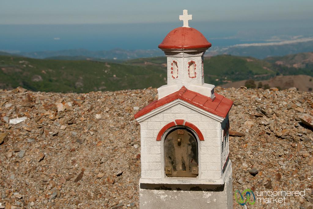 Roadside Church Near Samaria Gorge, Crete