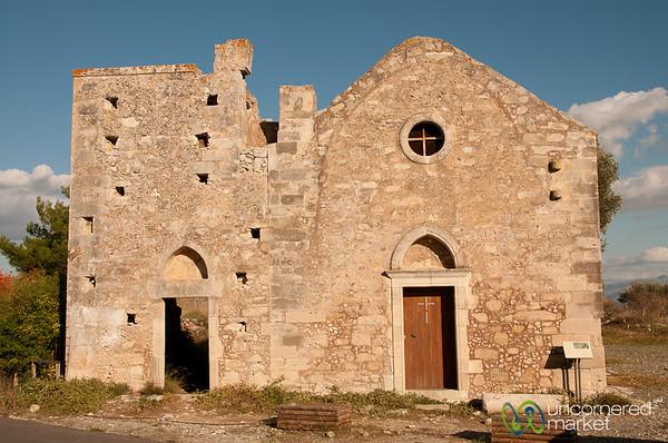 Village Cretan Church - Phaestos, Crete