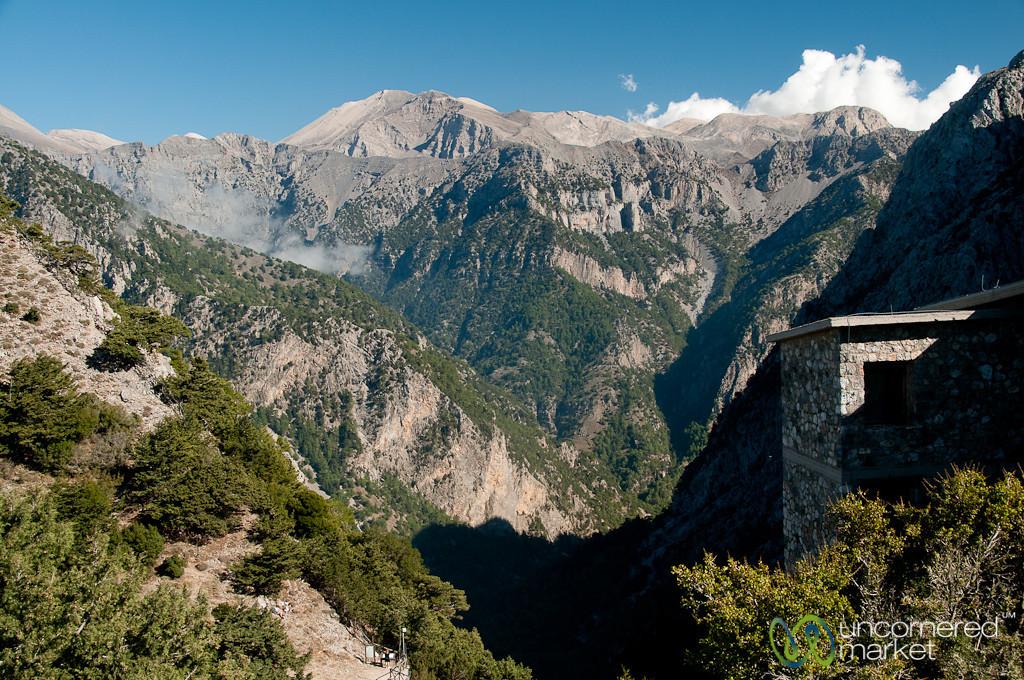 Looking Into Samaria Gorge - Crete