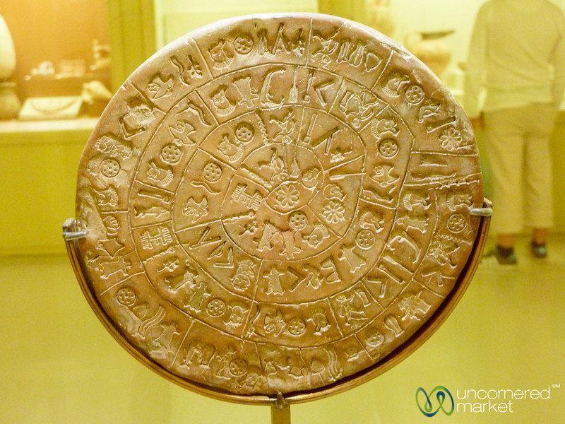 Phaistos Disc - Crete, Greece.