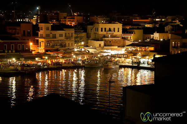 Chania at Night - Crete