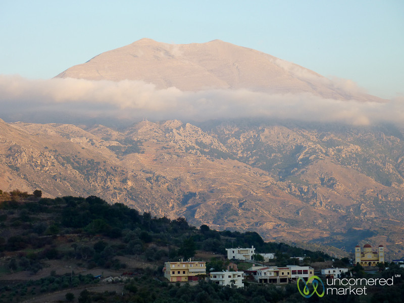Mountain Views in Amari Valley - Crete, Greece