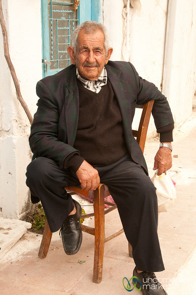 Older Cretan Man - Greece