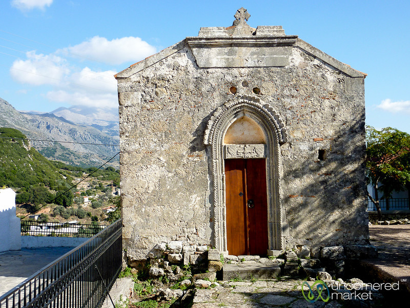 Tiny Medieval Crete Church - Greece