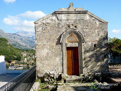 Tiny Medieval Crete Church - Greece