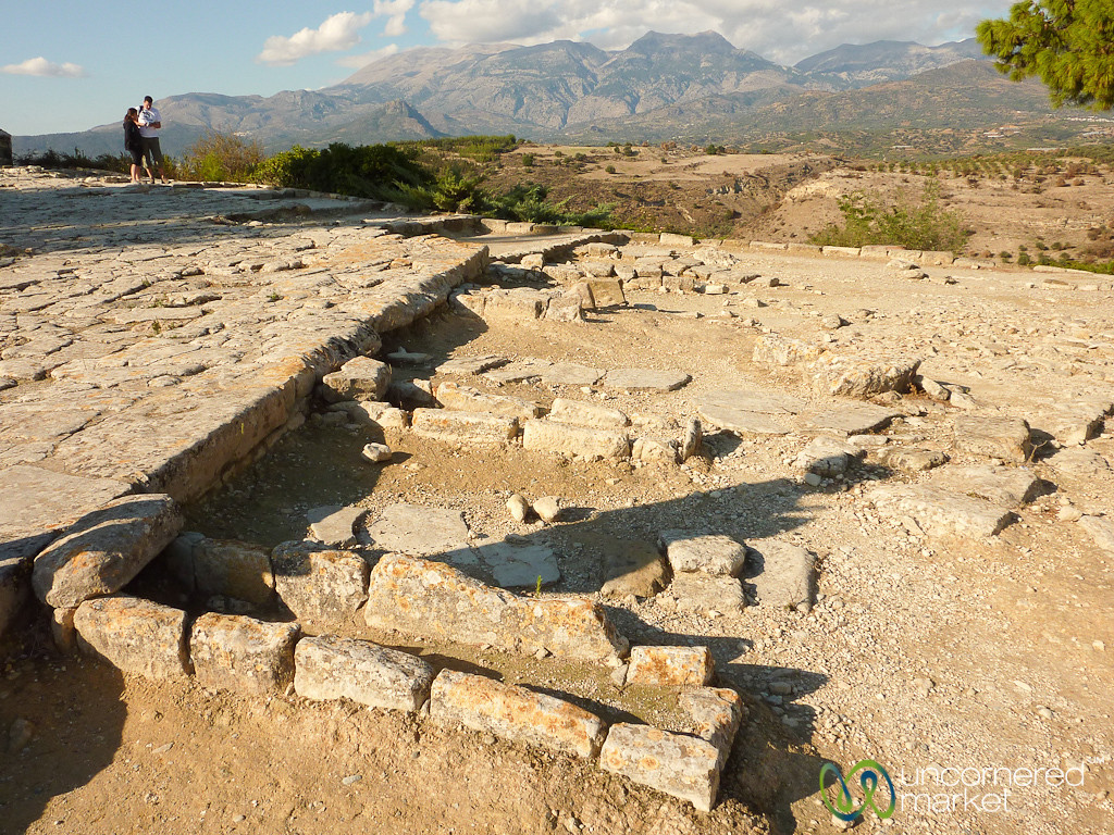 Ancient Ruins of Phaestos, Crete