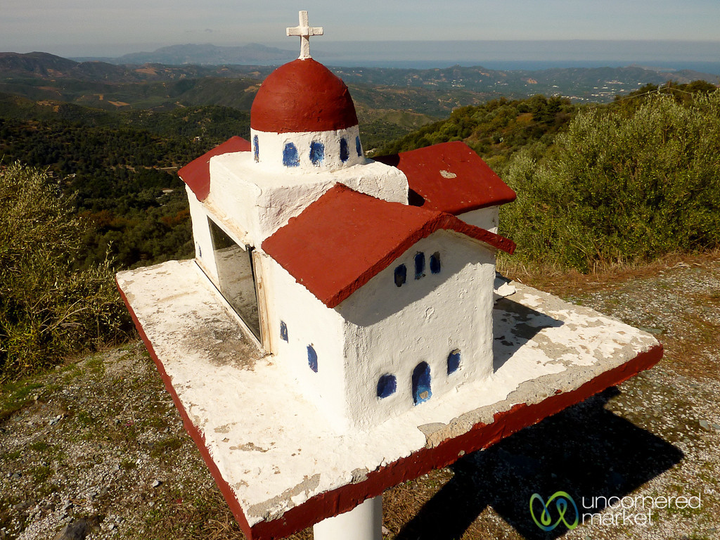 Roadside Church - Crete, Greece
