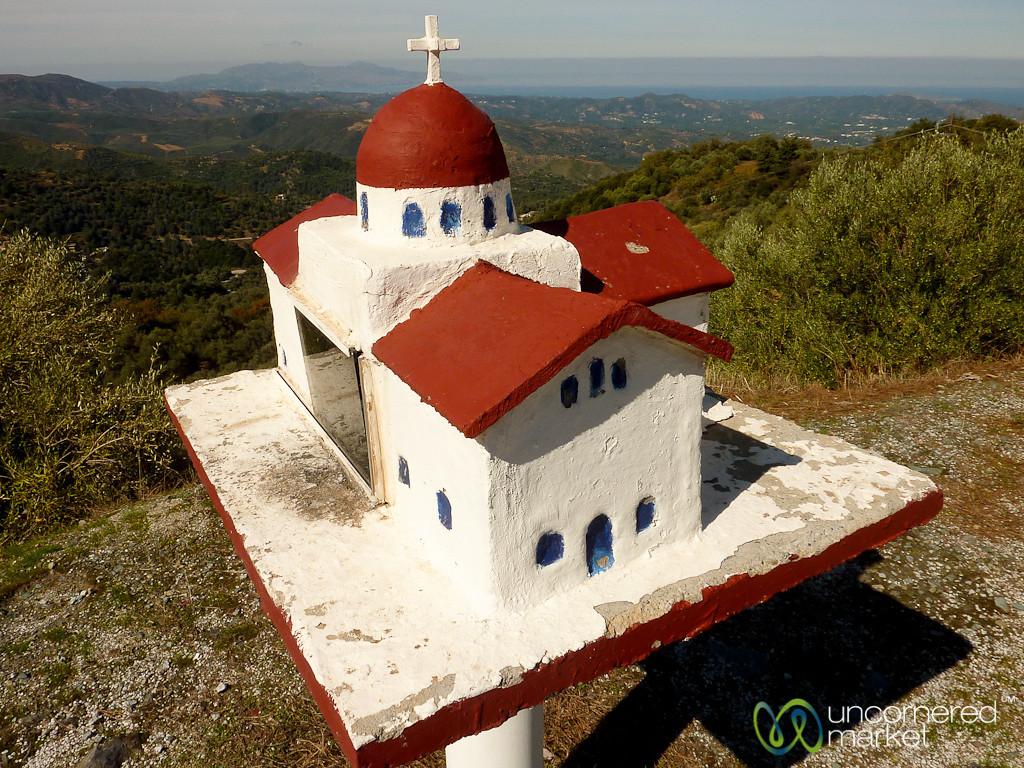 Roadside Church - Crete, Greece
