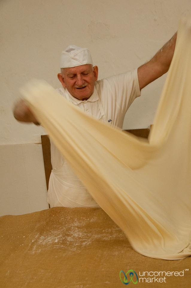 Handmade Filo Dough - Rethymnon, Crete
