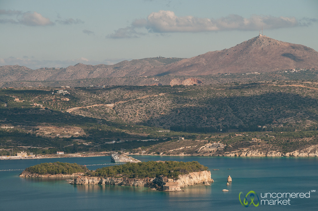 Souda Island and Gulf - Crete, Greece
