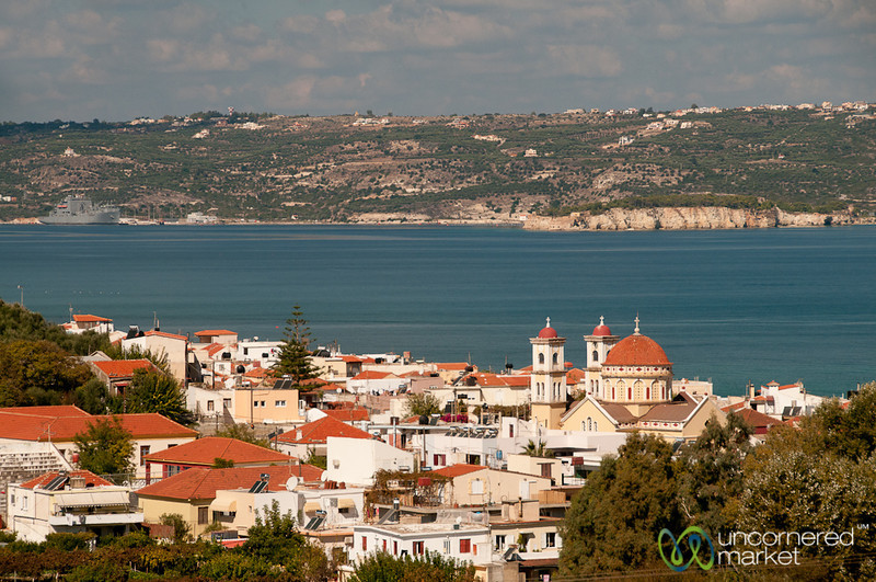 View Over Chania, Crete