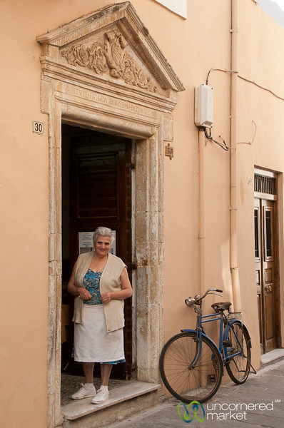 Filo Dough Shop in Rethymnon, Crete