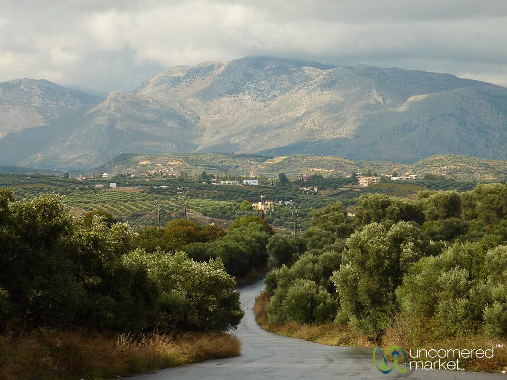 Cretan Landscape and Agriculture - Crete, Greece
