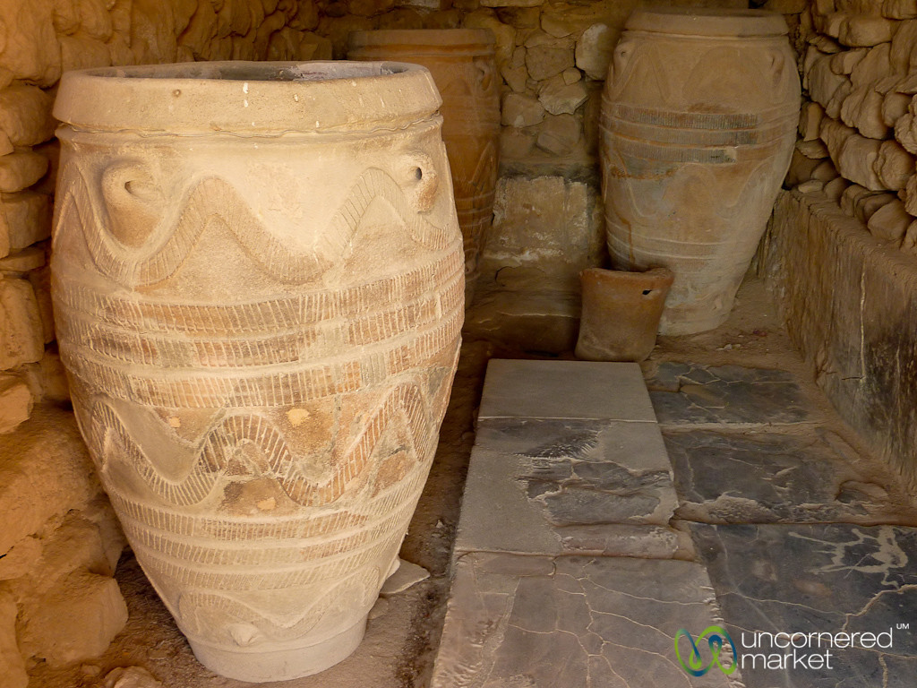 Ancient Vessels for Olive Oil - Gortyn, Crete