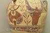 Crete - Iraklio - Archaeological Museum - Bull Head and Double Axe Jar