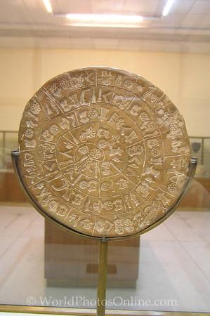 Crete - Iraklio - Archaeological Museum - Phaistos Disk 1