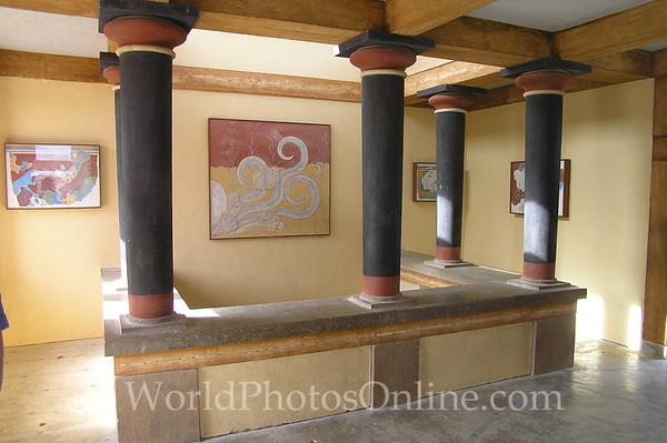 Crete - Knossos - Priest Room