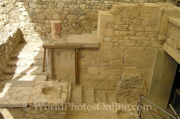 Crete - Knossos - Grand Staircase
