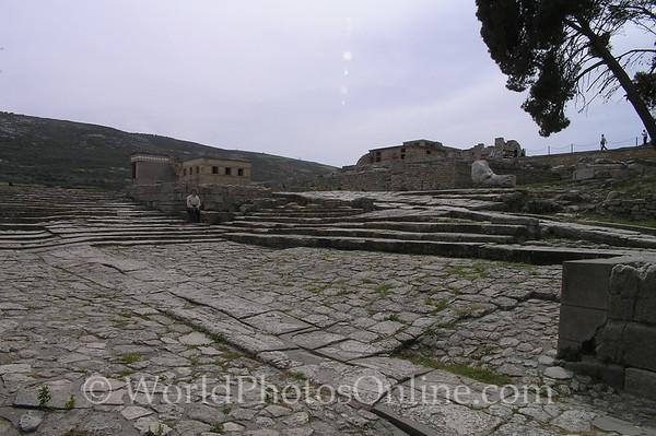 Crete - Knossos - Theatre 1