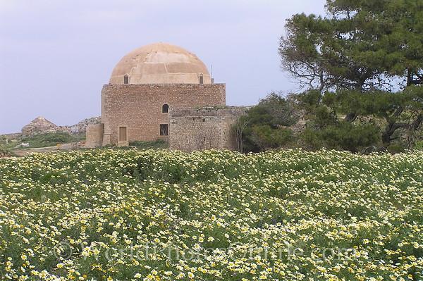 Crete - Rethymno - Venetian Fortress - Turkish Mosque 1