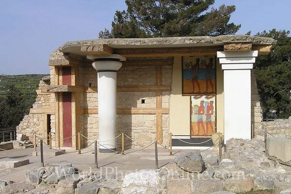 Crete - Knossos - South Propylaeum