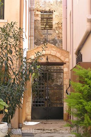 Crete - Hania - Church Entrance