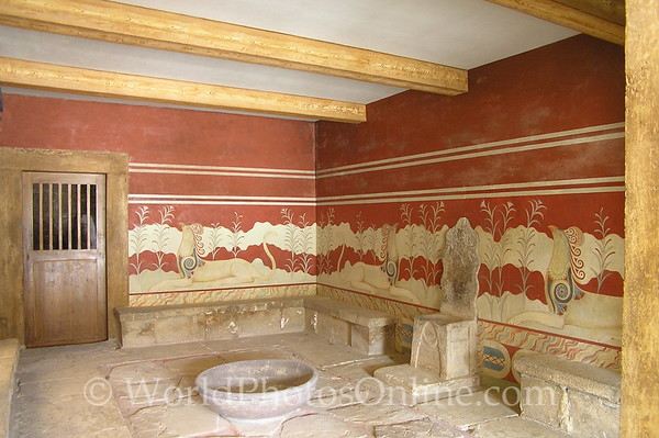 Crete - Knossos -Throne Room 1