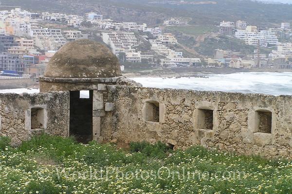 Crete - Rethymno - Venetian Fortress - Barbican 2