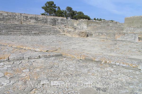 Crete - Phaestos - Palace Theatre