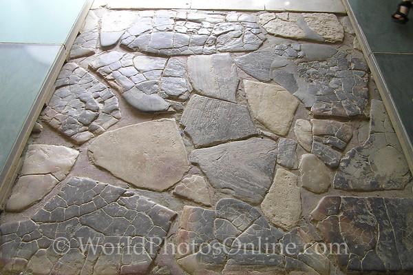 Crete - Knossos - Original Alabaster Floor