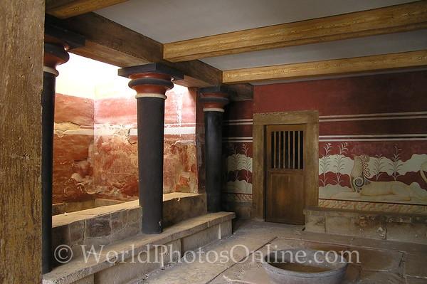 Crete - Knossos -Throne Room 2