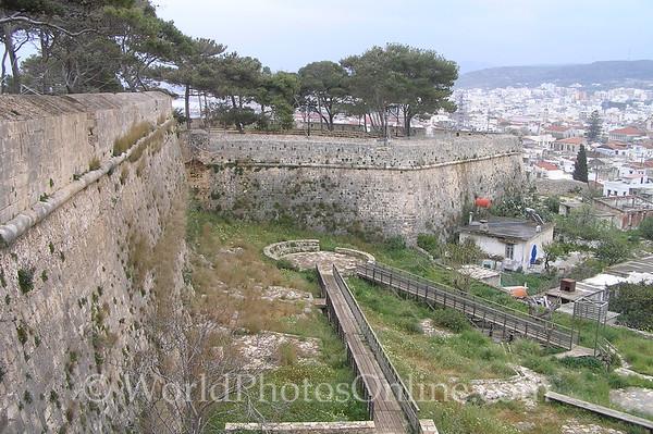 Crete - Rethymno - Venetian Fortress - Outer walls