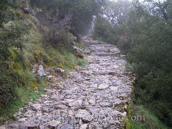 Crete - Dikteon Cave - Path to Cave