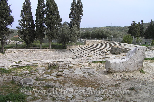 Crete - Knossos - Theatre 2