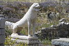 Delos - Terrace of the Lions - Close-up of Lion
