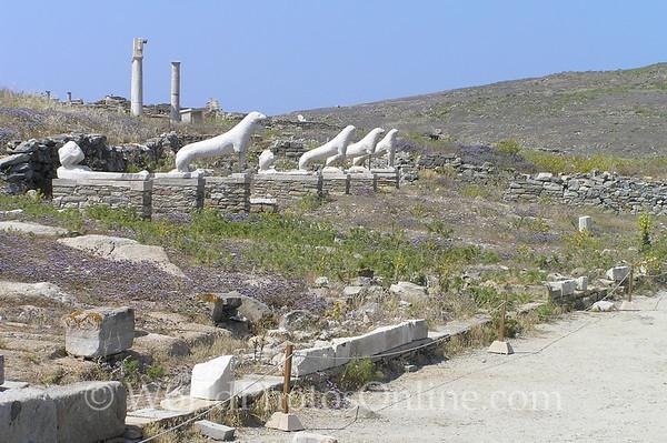 Delos - Terrace of the Lions